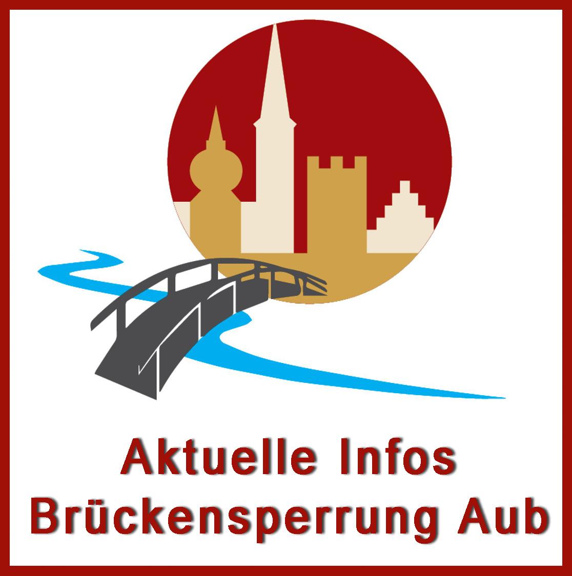 Logo Brueckensperrung Aub